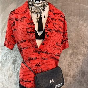 Harley Button Down Shirt
